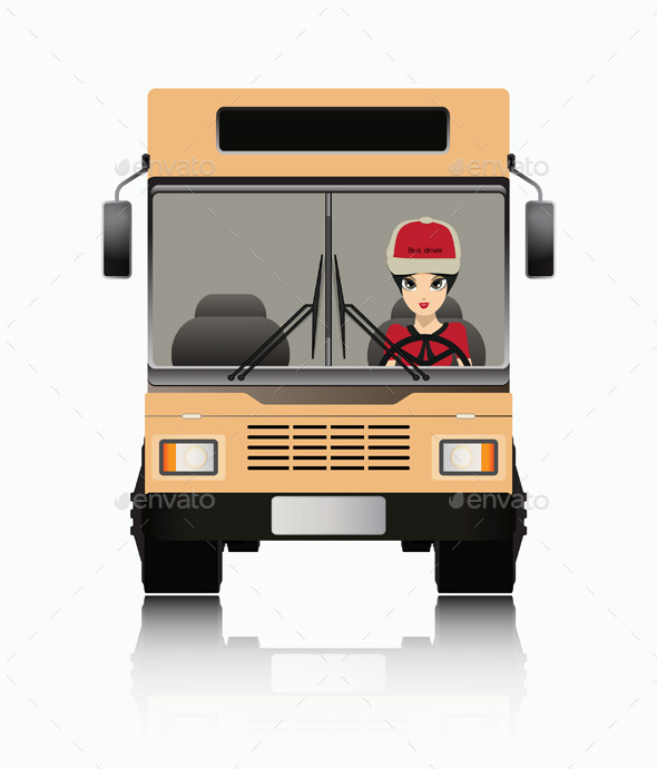 GraphicRiver Bus Driver 8952006