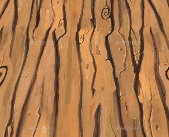 Hand Paint Wood By Gustavlegion 3docean
