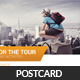 Tour Travel Business Postcard Psd Template - GraphicRiver Item for Sale