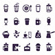 Coffee Icons: Vector Set. - GraphicRiver Item for Sale