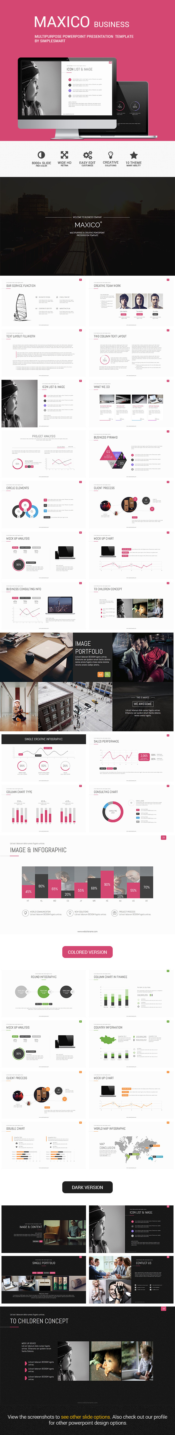 GraphicRiver MAXICO Multipurpose Presentation Template 8952716