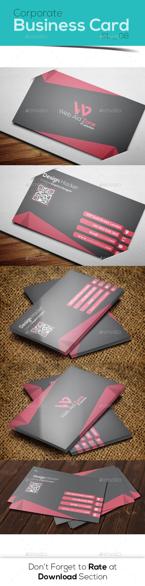 GraphicRiver Corporate Business Card 08 8952763