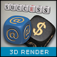 3D Objects - Dice Letters - GraphicRiver Item for Sale