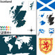 Map of Scotland - GraphicRiver Item for Sale