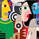 Group of Talking People - GraphicRiver Item for Sale