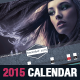 Stylish Corporate 2015 Horizontal Calendar Template - GraphicRiver Item for Sale