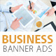 Corporate Web Banner Ads Vol.4 - GraphicRiver Item for Sale
