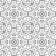 Seamless Outline Floral Pattern - GraphicRiver Item for Sale