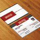 Modern Corporate Business Card HP0001 - GraphicRiver Item for Sale