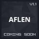 Aflen - Responsive Under Construction Template - ThemeForest Item for Sale