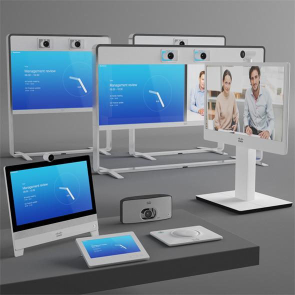 3DOcean Cisco Videoconferencing System 8953860