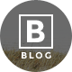 B - Blog - A Professional Blog Website - Photography Creative