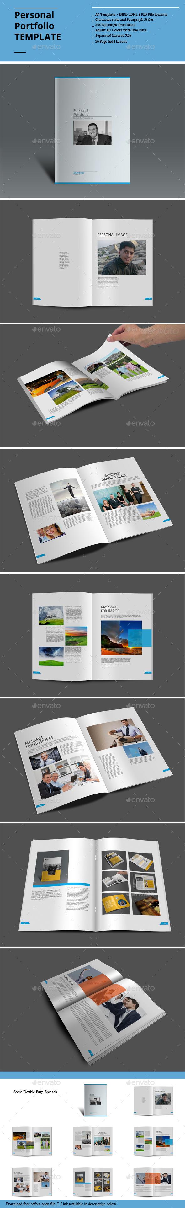 GraphicRiver Personal Portfolio Templates 8954153