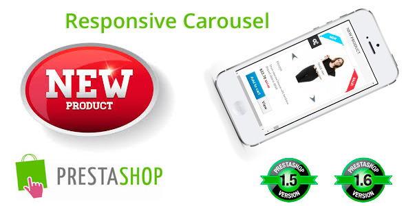 CodeCanyon Responsive New Product Carousel 8954192