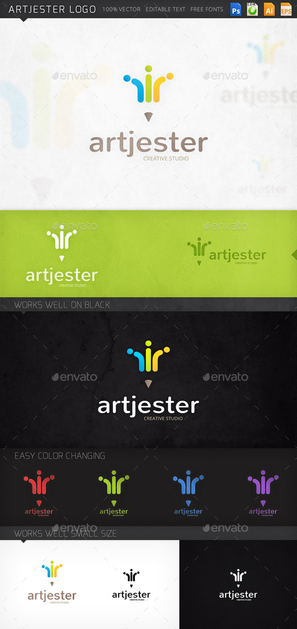 GraphicRiver Artjester Logo 8954262