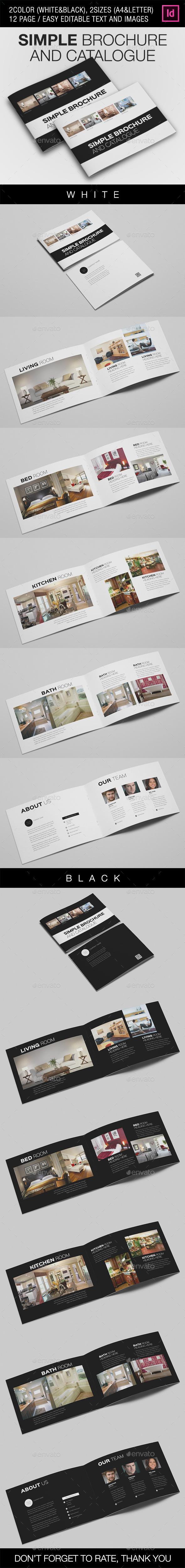 GraphicRiver Simple Catalogue Brochure V.2 8954297