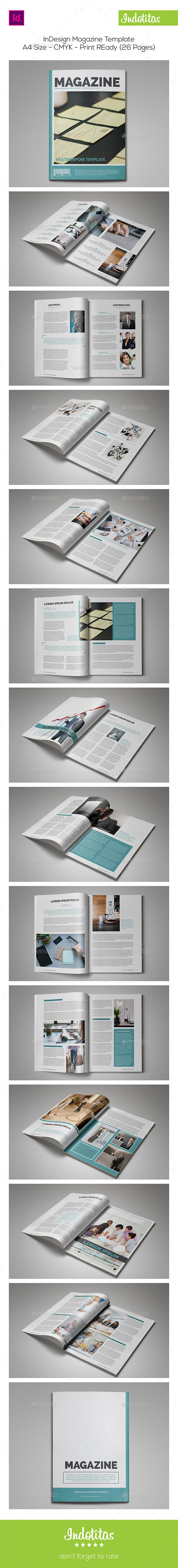 GraphicRiver InDesign Magazine Template 8954436