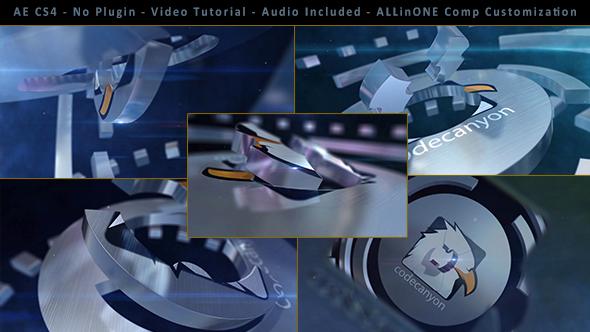 Cinematic Elegant 3D Logo Formation Opener