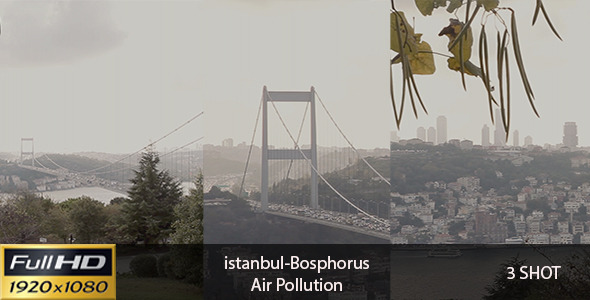 Istanbul-Bosphorus Air Pollution