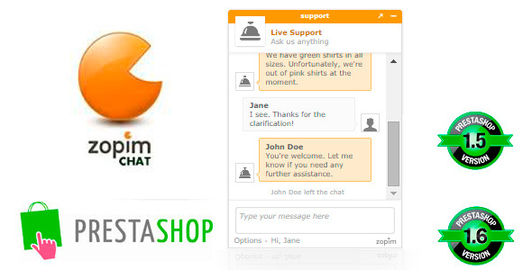 CodeCanyon Zopim Live Chat 8954827