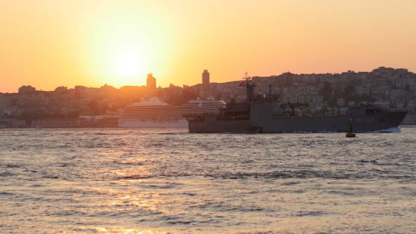 Turkish Coast Guard Ship