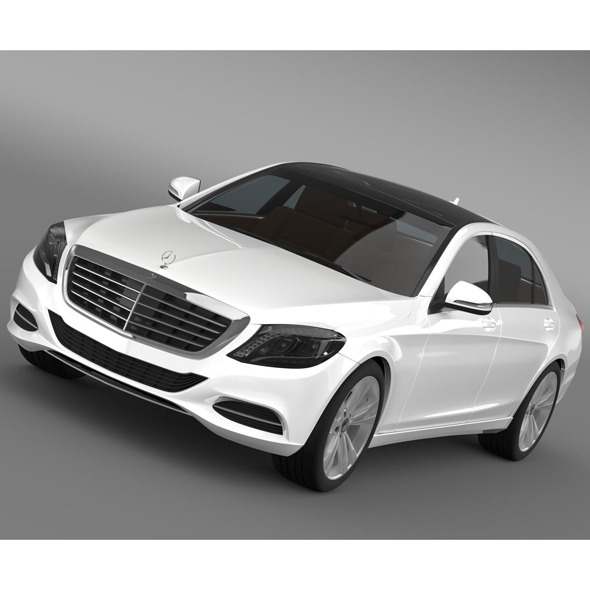 Mercedes Benz S 350 BlueTec W222 2013 - 3DOcean Item for Sale