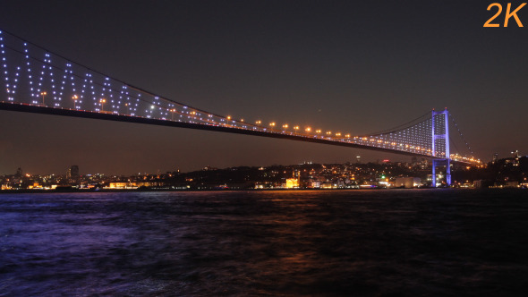 Bosphorus Bridge Day To Night 5