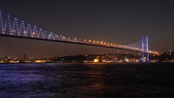 Bosphorus Bridge Day To Night 6