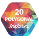 20 Low-Poly Polygonal Background Textures - GraphicRiver Item for Sale