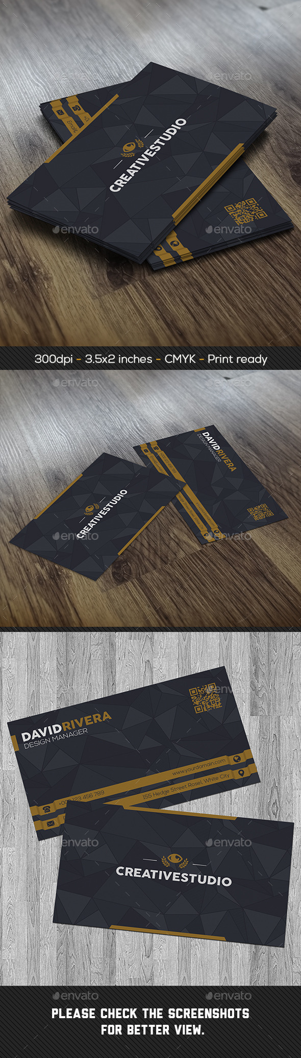 GraphicRiver Modern Creative Business Card 8955767