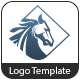 Rough Horse - Logo Template - GraphicRiver Item for Sale