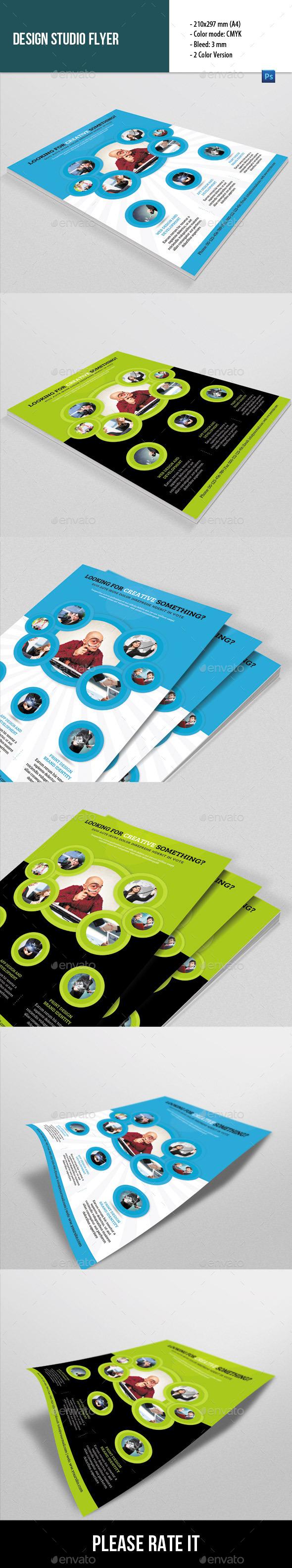 GraphicRiver Flyer Template for Design Studio 8956162