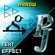 PJ Arrows - text effect - ActiveDen Item for Sale