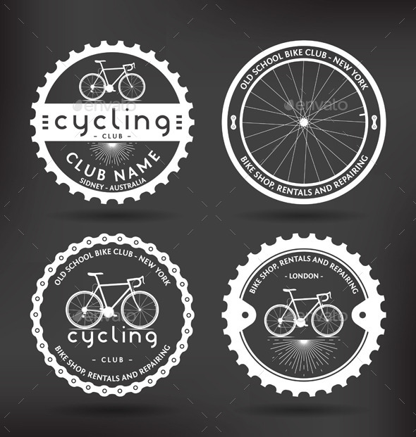 GraphicRiver Cycling Badges 8957032