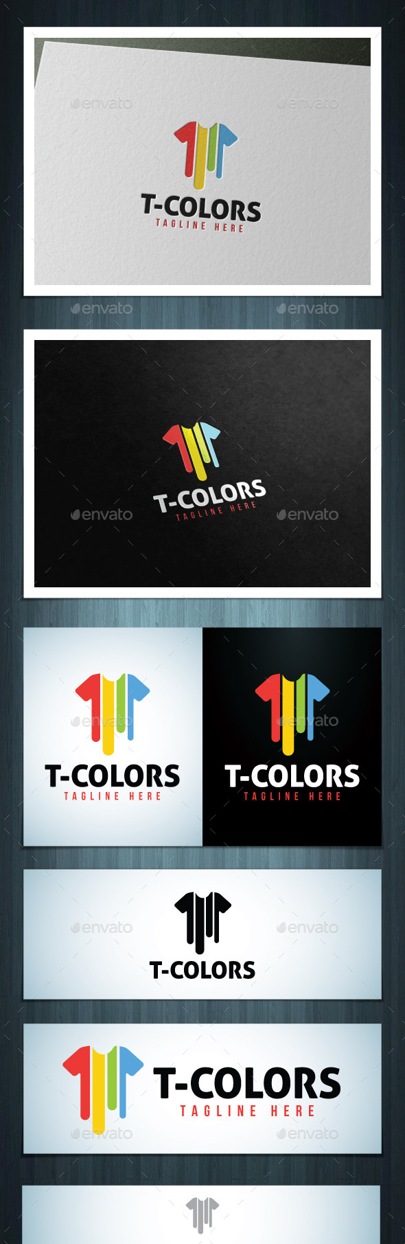 GraphicRiver T-Colors 8957269