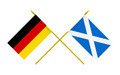 Flags of Germany and Scotland, 3d Render, Isolated - PhotoDune Item for Sale