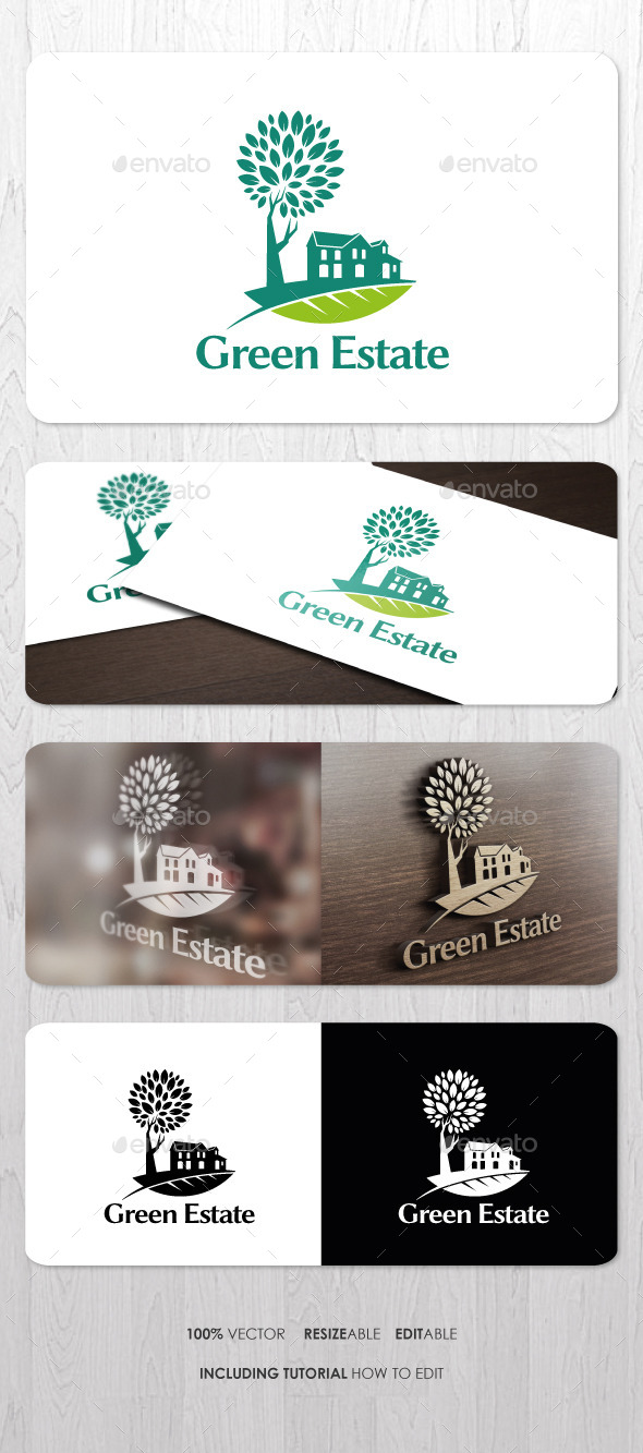 GraphicRiver Real Estate Logo 8957381