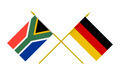 Flags of Germany and South Africa, 3d Render, Isolated - PhotoDune Item for Sale