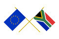 Flags of European Union and South Africa, 3d Render, Isolated - PhotoDune Item for Sale