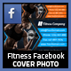 Fitness Facebook Timeline Cover 02 - GraphicRiver Item for Sale