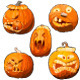 Toothy Pumpkins for Halloween - GraphicRiver Item for Sale