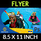 Diving Flyer Template Vol.2 - GraphicRiver Item for Sale