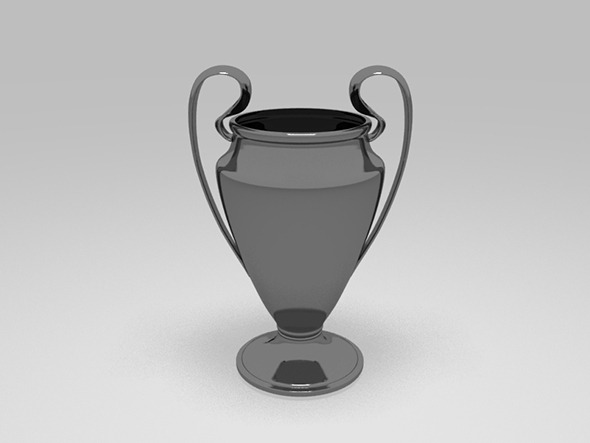 3DOcean European Champions Cup Trophy 8958516
