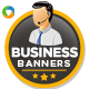 Business Web Banner Design Set - GraphicRiver Item for Sale