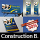 Construction Advertising Bundle Vol.2 - GraphicRiver Item for Sale