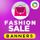 Fashion and Style E-Commerce Banners - GraphicRiver Item for Sale