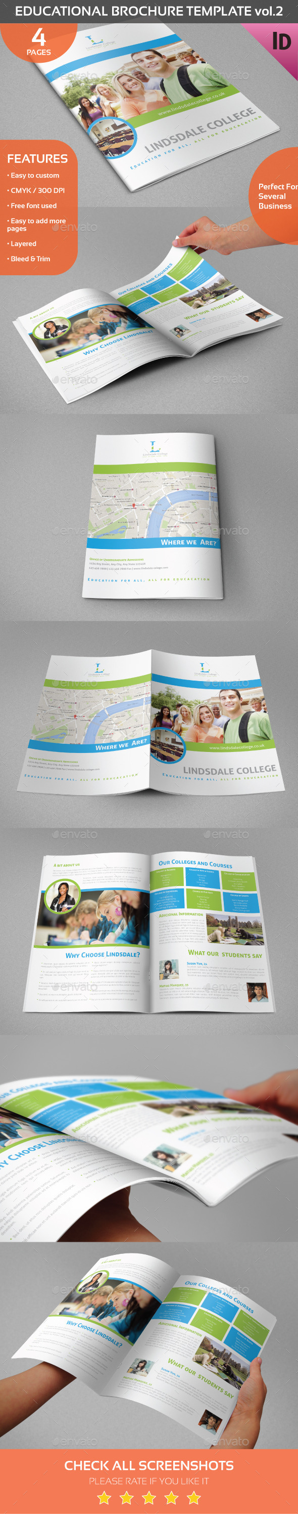 GraphicRiver Educational Brochure Template Vol.2 8959818
