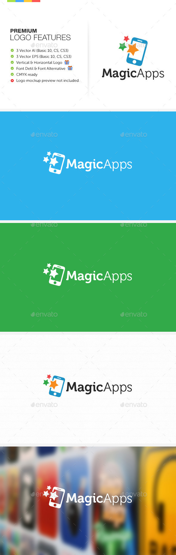 GraphicRiver Magic Apps Logo 8960009