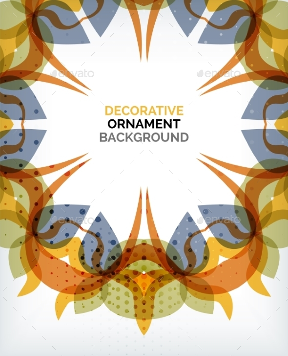 GraphicRiver Decorative Retro Ornaments Background 8960095