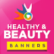 Health & Beauty Banners - GraphicRiver Item for Sale